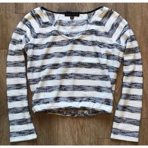 *3/$45* Sanctuary Navy & White Striped Sweater